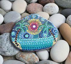 PIETRA di MARE / spiaggia pietra / dipinta da collezione / pietra pietra