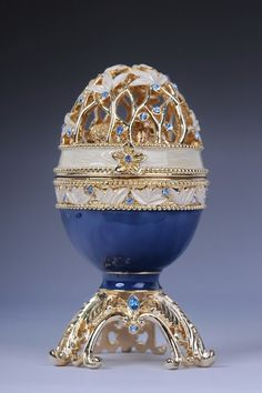 FABERGE EASTER EGG by shopgalilee on Etsy, $100.50