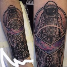 Interstellar tattoo