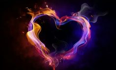 Flame heart .... can i got your hug ...