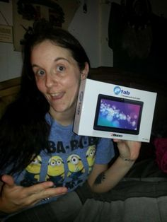 """Retail Value- $89.99 Bid- 86 Real/ 0 Voucher Winner Savings- $51.60 or 58% I would recommend this tablet to anyone!!!! Thanks QuiBids!"""" - Victoria"""