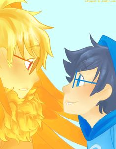 orange and blue are my boyfriend and my colors so naturally i love johndavesprite