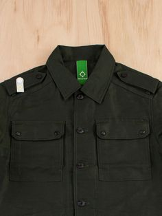 MA.STRUM Officers Outershirt Military Green