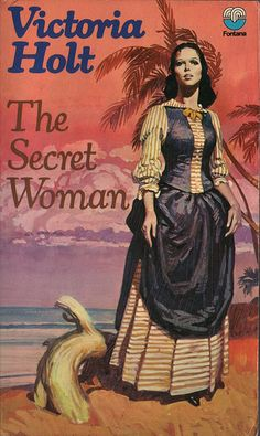 The Secret Woman - with what looks initially like a rabbit by her feet