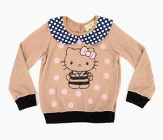 Misha Lulu x Hello Kitty Sweater: Polka Dots