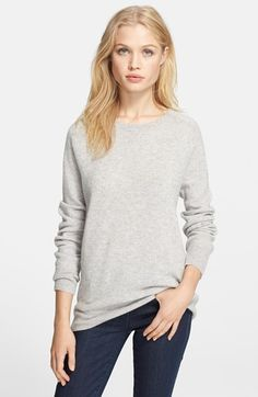 #maybeitcouldgoonsale Comes in cream Equipment 'Sloane' Crewneck Cashmere Sweater available at #Nordstrom