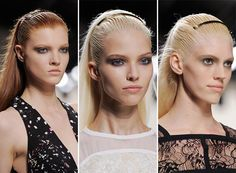 Spring/Summer 2014 Hair Accessory Trends - Golden Headbands  #hairaccessories