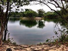 Rio Piaba em Cocalinho no Mato Grosso - Brazil