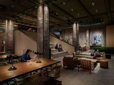 Rockwell Group : Projects : NeueHouse - innovative creative work space
