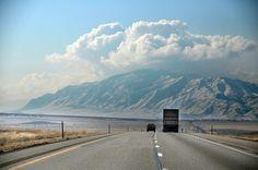 Trucking on I-15..