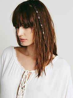 Decorative Hair Cuff 10pk   Up the ante of your do or add a little something extra to your dreadlock extensions with these metal cutout hair cuffs. Easy to put on. Malleable fit. *By Free People