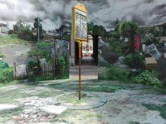 "Torino Palazzo Carignano   Arte alle corti ""Waiting for the last bus"" Botto&Bruno #torino #palazzocarignano #arte #art #artecontemporanea #contemporaryart #arteallecorti #arteallecorti2016 #botto&bruno #robertabruno #gianfrancobotto #Turin #Italy #mycity"