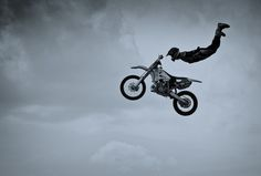 I'm thinking my future holds me witnessing this... Just sayin! He is a thrill seeker
