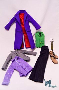 Joker clothes for Monster high doll