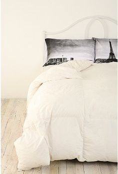 Paris Panorama Pillowcase Set, bedroom idea, but with London