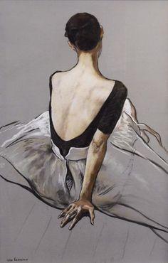 Painting by artist Katya Gridneva, 1965