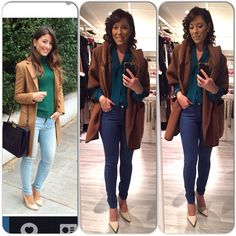 Outfit, cold, Jacket, jeans, blouse, ootd www.mbstyliste.ca Facebook