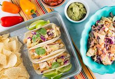Tired of the same old burgers this summer? Spice things up when you make these Pollock Fish Tacos with Spicy Cole Slaw using pollock burgers as the base.