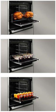 De nieuwe grillset van NEFF maakt het mogelijk om binnen te grillen, met dezelfde knapperige en smakelijke resultaten als buiten.