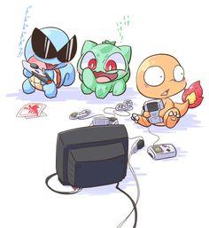 First starter Pokemon.