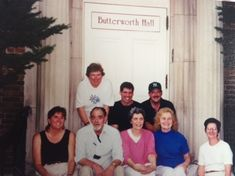 A reunion and a great pic in front of Butterworth Hall | Russ DeVeau at Hartford…