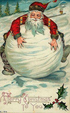 Vintage Christmas Postcard   Flickr - Photo Sharing!