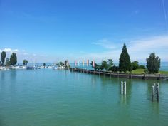 Romanshorn (St. Gallen, Switzerland) in Lake Constance