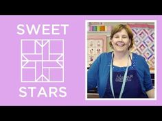 How to Make a Sweet Stars Quilt Block - YouTube