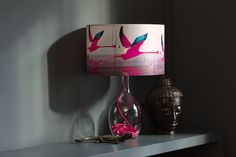 Anna Jacobs Breaking Dawn Medium Table Lamp at Pomegranate Living Lamp Design, Lighting Design, Lighting Ideas, Anna Jacobs, Large Table Lamps, Diy Craft Projects, Project Ideas, Crafts, Lamp Shades