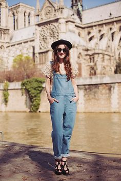 Get this look: http://lb.nu/look/4820739  More looks by Elle F: http://lb.nu/elena_f  Items in this look:  The White Pepper Dungarees