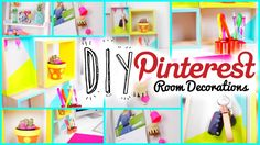 DIY Pinterest Inspired Room Decorations for Teens | Cheap!