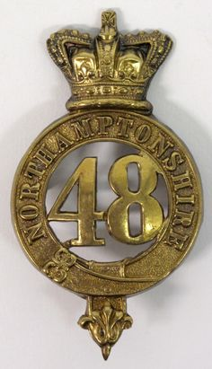 British; 48th (Northamptonshire) Regiment, O.R.'s Glengarry Badge, c.1878