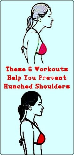 6 Workouts Help You Prevent Hunched Shoulders! - Tips Life Mega Health Guru, Health Routine, Health Advice, Health Yoga, Better Posture, Bad Posture, Love Fitness, Fitness Tips, Warm Up Stretches