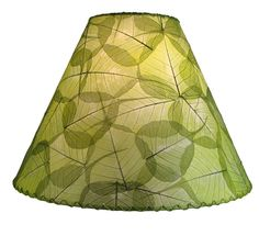 I Decoupaged A Thrift Store Lamp Shade With Tissue Paper