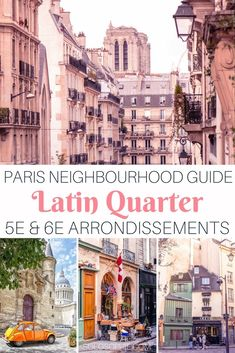 Latin Quarter Guide: Wandering around Medieval Paris! Best cafes and bars in the area, things to see and do and where the Parisians really hang out! Paris Travel Guide, Europe Travel Tips, Travel Hacks, Paris Hotels, Paris France, Tour Eiffel, Paris Latin Quarter, Plan Paris, Paris Neighborhoods