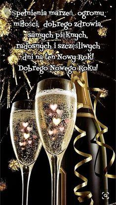 Życzy Ewa z rodziną New Year Post, Christmas Embroidery, Motto, Birthday Wishes, Happy New Year, Merry Christmas, Humor, Inspiration, Happy New Year Wishes