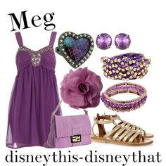 Meg, created by disneythis-disneythat on Polyvore