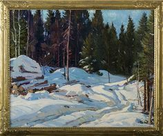 Winter Logging - Aldro Thompson Hibbard
