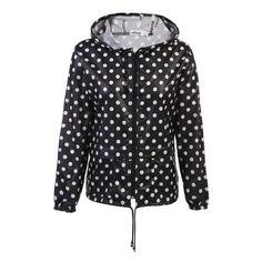 Meaneor autumn coat Women Hooded Jacket 2017 winter thin long sleeve Waterproof casual outcoat Outwear Plus size S,M,L,XL,XXL #RaincoatsForWomenLongSleeve