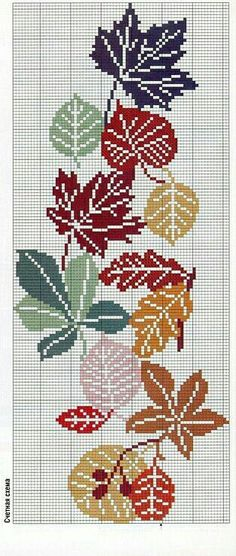 Embroidery flowers border punto croce 57 Ideas for 2019 Cross Stitch Borders, Modern Cross Stitch, Cross Stitch Flowers, Cross Stitch Designs, Cross Stitching, Cross Stitch Patterns, Embroidery Leaf, Cross Stitch Embroidery, Embroidery Patterns