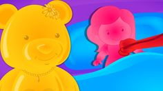Jelly Bears | Miss Polly Had A Dolly | Nursery Rhymes For Kids
