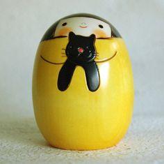 usaburo kokeshi...cute!