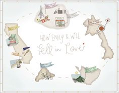 Falling in love map, by LindseyBee