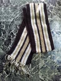 Resultado de imagen para bufandas tejidas a ganchillo para hombre