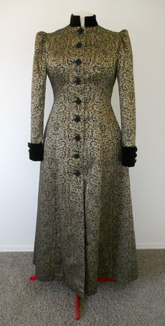 Victorian Steampunk Bustled Style Coat