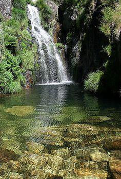 Cascata da Frecha da Mizarela , Albergaria da Serra