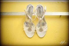Bride's shoes. Bh Photography