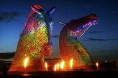 The Kelpies- Scotland