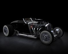 Classic Mercedes Benz 500 Converted to a hot rod!