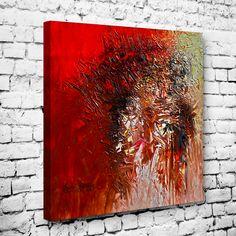 Abstract African Painting Tablo I #soyut_kanvas_tablo